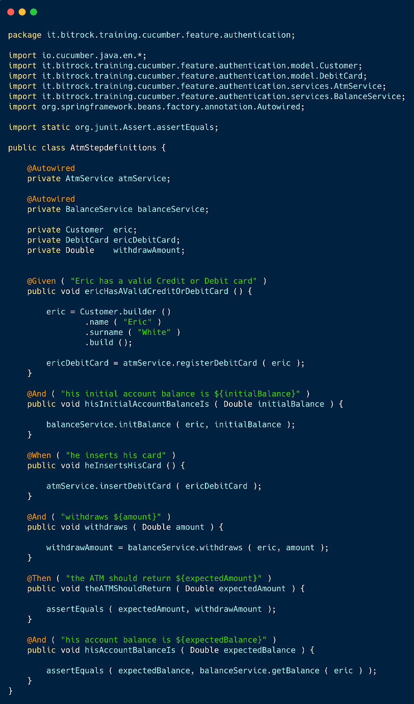 BDD - Example