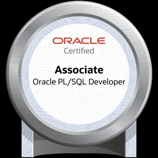 Oracle PL/SQL Developer Associate