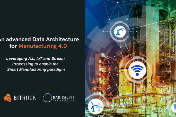 An advanced Data Architecture for Manufacturing 4.0